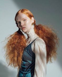 Ginger Haare - Beauty - in 2020 Editorial Hair, Editorial Fashion, Beauty Editorial, Princesa Punk, Pretty People, Beautiful People, Fotografie Portraits, Portrait Photography, Fashion Photography