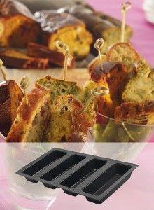#recettes #Cakes - Avec le moule en Flexipan ® #Demarle