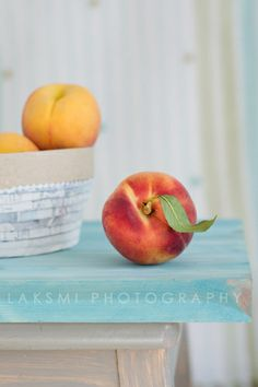 peaches...  Nothing better in the fall than a super juicy fresh peach.  Heaven!