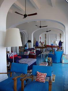 The Poppy Club: Mediterranean interior