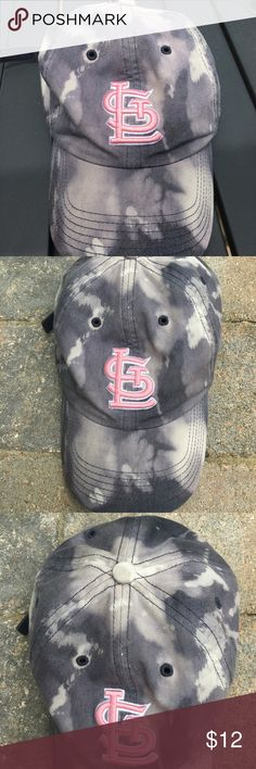 STL Cards Hat💞 Bleach dyed St. Louis Cardinals hat... in good condition. Comment below with questions! Offers are always welcome👍🏼 Accessories Hats