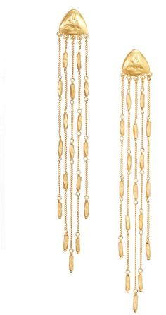Chan Luu Long Chain Earrings