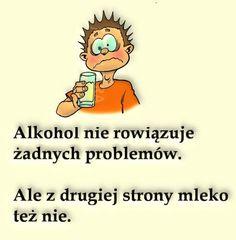 pij mleko na tablicy humor przypisanej do kategorii Humor Humor, Memes, Haha, Funny Pictures, Film, Disney Characters, Quotes, Printables, Jokes