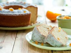bizcocho naranja Food Cakes, Cookie Cups, Cornbread, A Food, Banana Bread, Cake Recipes, Cheesecake, Pudding, Cookies