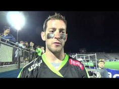 @Lizards Lacrosse Ned Crotty postgame interview after the 11-10 victory against Boston
