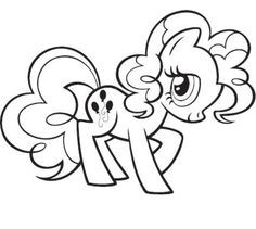 My Little Pony Pinkie Pie Coloring Pages | Kids Colouring in ...