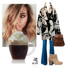 """coffee outfit"" by cristina-mihaela-gabriela-oprea on Polyvore featuring STELLA McCARTNEY and Sole Society"