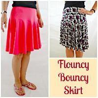 Free Sewing Pattern: Flouncy Bouncy Skirt