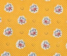 Maianenco Yellow--Provencal fabrics
