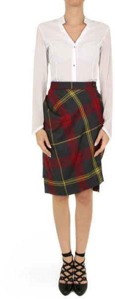 vivienne westwood tartan skirt - Google Search