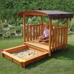 Like the hidden sandbox idea, extra ammunition of fun for the kids!