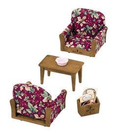 Sylvanian-Family-Living-Room-Arm-Chair-Sofa-set-KA-509