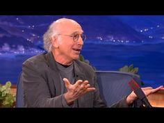 ▶ Larry David Explains His Parking Lot Meltdown - CONAN on TBS - YouTube