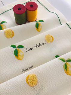 Cross Stitch Embroidery, Cross Stitch Patterns, Cross Stitch Kitchen, Bargello, Hand Towels, Blog, Handmade, Decor, Crochet Edgings