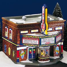 Department 56 Retirements is intended to be a historical reference for your Village and Snowbabies pieces. Christmas Village Decorations, Christmas Village Houses, Christmas Village Display, Halloween Village, Christmas Town, Christmas Villages, Christmas Diy, Christmas Garden, Department 56 Christmas Village