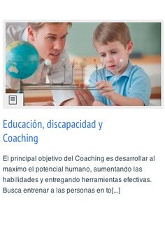 Educación, discapacidad y Coaching