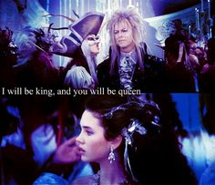 """Labyrinth...mixed with lyrics to Bowie's """"Heroes"""""""