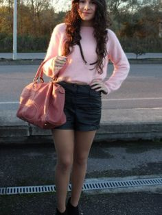 ccpetiterobenoire Outfit   Otoño 2012. Combinar Jersey Rosa H