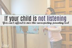 "How to get your child to listen – An unexpected tool every parent of a young child needs now It's 10:50  am.  You should have been out the door headed to your appointment five minutes ago.  You feel your blood pressure rise as you sharply say ""Get. Your. Shoes. On."" for the 40th time.  You"