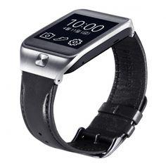 Zachowaj indywidualny styl, dzięki skórzanej bransolecie do zegarka Samsung. Możesz ją zmieniać w zależności od nastroju i okazji. Bransoletka pasuje do zegarków Gear2 i Gear2 Neo.  Produkt w kolorze czarnym.