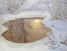 View Winter landscape with sun rays in a nearly frozen lake by Gustaf Fjaestad on artnet. Browse upcoming and past auction lots by Gustaf Fjaestad. I Love Snow, I Love Winter, Winter Art, Winter Time, Winter Child, Winter Landscape, Landscape Art, Winter Songs, Winter's Tale