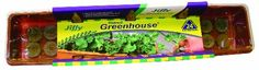 Jiffy 5042 Windowsill Greenhouse 24-Plant Starter Kit With J7 | shopswell