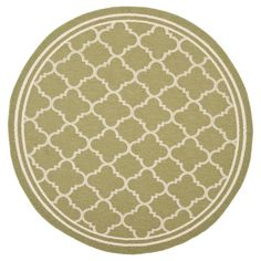 Ashford Rectangle 2 X 37 Outdoor Patio Rug Natural Olive