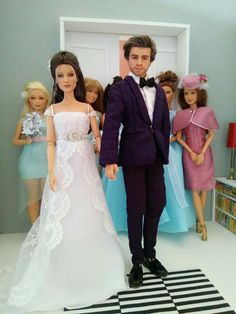 custom barbie & Ken