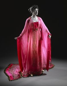 Costume for Ganna Walska as Floria Tosca, 'Tosca' Erté (Romain de Tirtoff) (Russia, active France and United States, 1892-1990) France, 1920