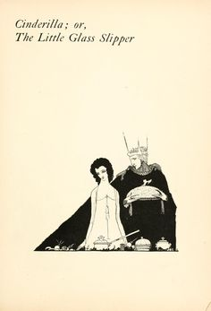 Harry Clarke 1922 Il rend la pantoufle. | 15 illustrations magnifiques de contes de fées