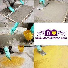 dcoracao.com - blog de decoração: CIMENTO QUEIMADO