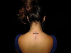 cross tattoos | 19. Awesome Cross Tattoos for Girls