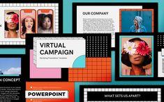 Creative Presentation Ideas, Presentation Templates, Advertising Photography, Photography Branding, Slide Design, Game Design, Marketing Presentation, Company Values, Behance