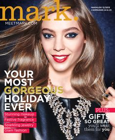 eBrochure   AVON Mark Magalog 12/2015 Campaigns 24 & 25  Your Most Gorgeous Holiday Ever!  #fashion  #mark  #Avon  #holidays