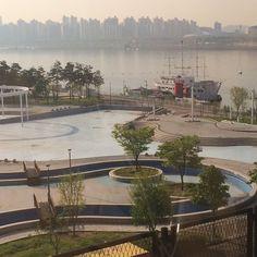 2017-04-21 금요일 한주간 수고많으셨습니다.. 행복하세요.. 해피 금요일 #한강 #출근길 Han River