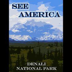 Denali National Park and Preserve by Eitan S. Kaplan  #SeeAmerica