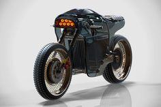 sinister electric cafe racer designboom