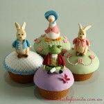 Easter cupcakes, Peter Rabbit (cakesbylorinda.com.au)