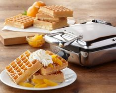 All-Clad Belgian Waffle Makers #williamssonoma