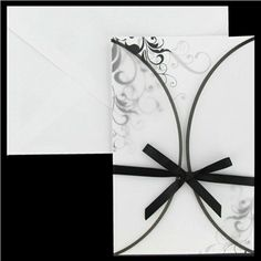 Black white wedding on pinterest hobby lobby romantic for Wedding invitations 50 cents each
