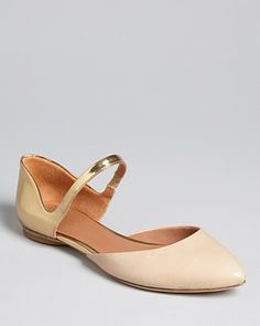 Sigerson Morrison Pointed Toe Mary Jane Flats - Holli2 | Bloomingdale's
