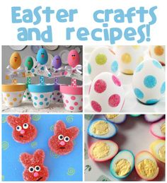 Easter Crafts & Recipes @funfamilycrafts