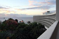 #Pestana Casino Park #Hotel, no Funchal - Madeira, obra-prima de arquitectura, de Oscar #Niemeyer, com bela paisagem e bonitas plantas e flores nos jardins  http://lgb-foto.blogspot.pt/2014/11/pestana-casino-park-hotel.html