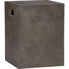 cement grey side table  USD 149.00