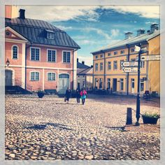 Old Town hall, Porvoo, Finland Travel Around The World, Around The Worlds, Scandinavian Countries, Town Hall, Summer Travel, Helsinki, Old Town, Norway, Travelling