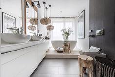 Master Bath Remodel, Beautiful Bathrooms, Clawfoot Bathtub, Duravit, Double Vanity, Furniture, Design, Home Decor, Modernism