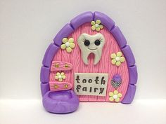 Order a Tooth Fairy door for your child to leave their tooth at.