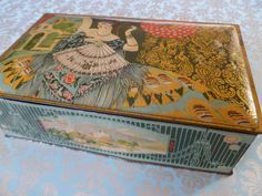 Beautiful tin.