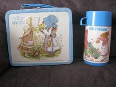 Holly Hollie metal lunch box..