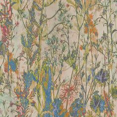 Wild Flowers, Lush, Curtains, Floral, Prints, Painting, Toilet, Wallpapers, Bedroom